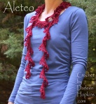 Aleteo Scarf a crochet pattern by Darleen Hopkins