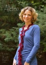 Aleteo Scarf a lace crochet pattern by Darleen Hopkins