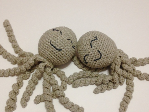 Octopus for a preemie donating to a local hospital