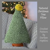 Textured-Christmas-Tree-pillow-crochet-pattern-by-Darleen-Hopkins-square